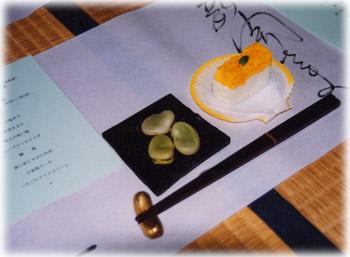 ■漆のお椀とお箸を使うお食事会2
