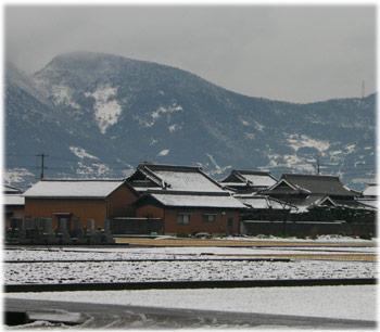 1/21香川県の雪景色