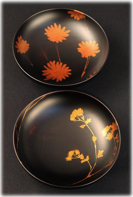 銀彩 小皿2