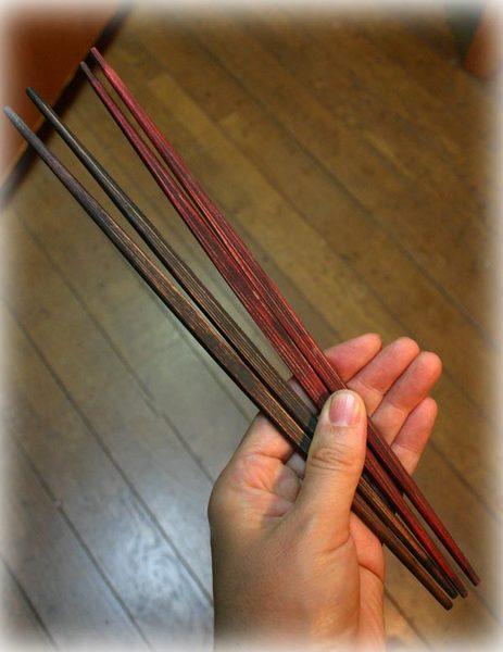 杉の利休箸