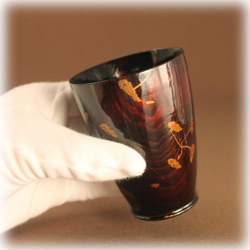 漆の湯飲み 国産漆の湯飲み2