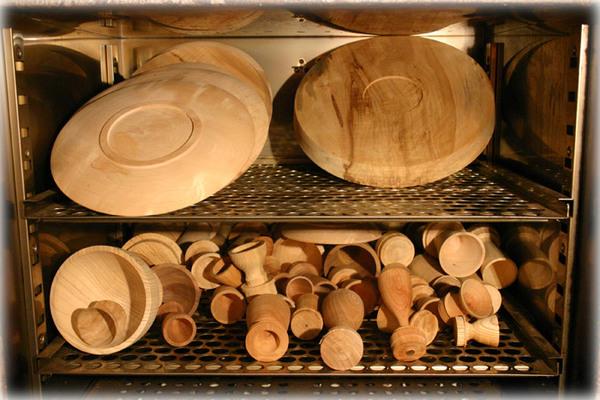 熱処理の木地1