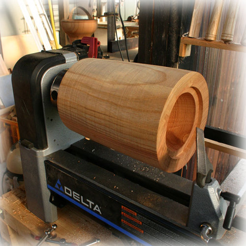 木工旋盤 国産漆2