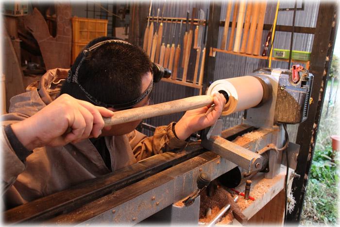 木工旋盤2