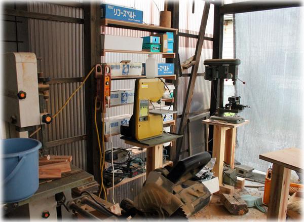 木工場の片付け2
