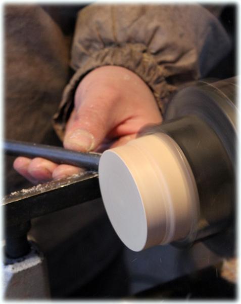 木工旋盤 国産漆 トチ材
