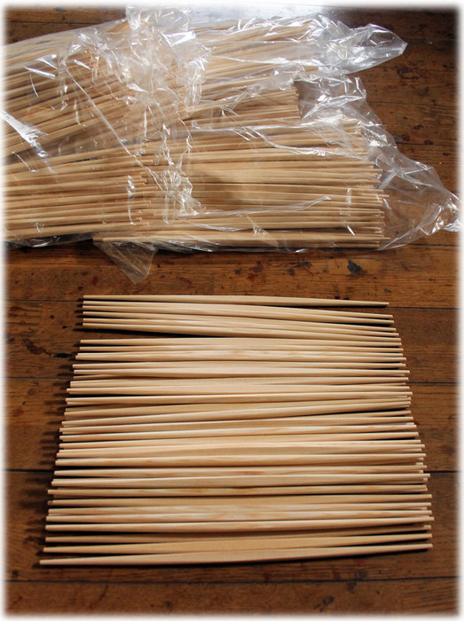 吉野杉のお箸 木地