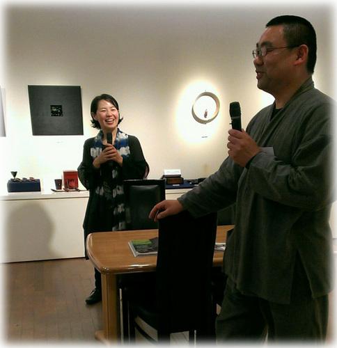 壱木呂の会展 トーク