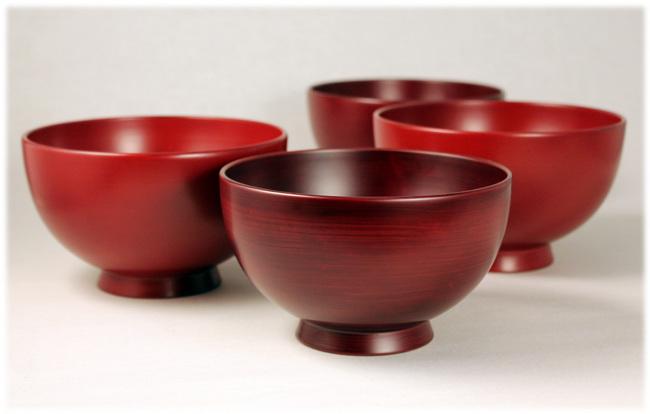 純日本産漆のお椀