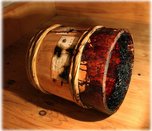 国産漆 樽 桶 純粋 浄法寺漆
