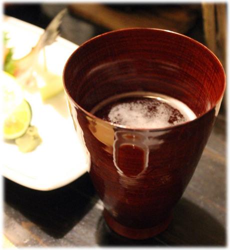 国産漆 ビアカップ