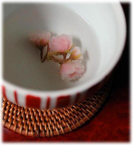 お手製桜茶