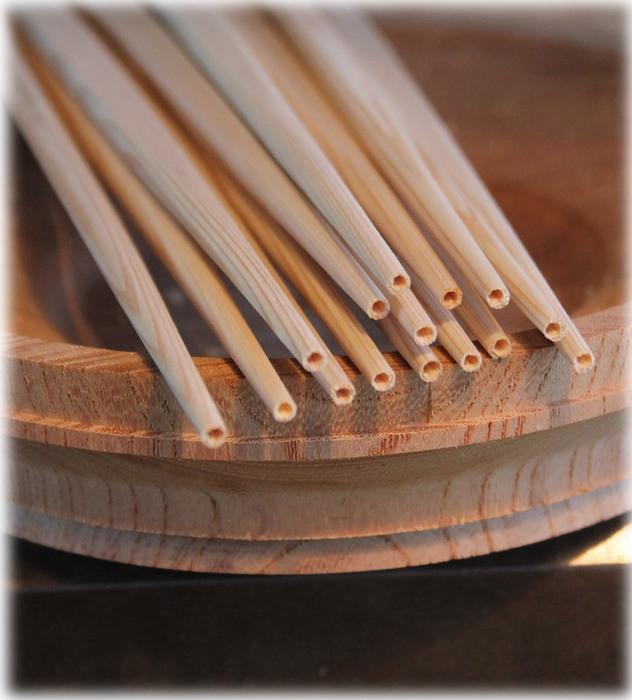オーダーの吉野杉の利休箸