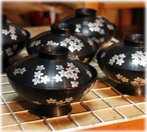 吸物椀 桜の花 桜紋