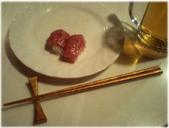 2/26 金箔箸と箸置