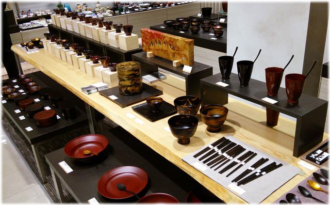 高島屋横浜店 和うるしの器展1